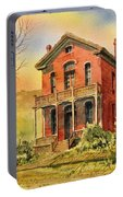 Courthouse Bannack Ghost Town Montana Portable Battery Charger