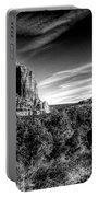 Courthouse Butte And Bell Rock Sedona Arizona Portable Battery Charger