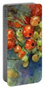 Currants Berries Painting Portable Battery Charger by Svetlana Novikova