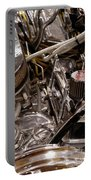 Custom Car Chromed Engine Portable Battery Charger