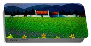 Daffodil Meadow Portable Battery Charger