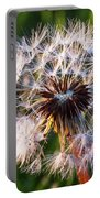 Dandelion In Nature Portable Battery Charger