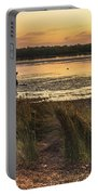 Dawn Waterscape And Wharf Portable Battery Charger