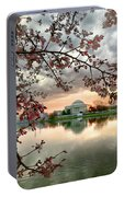 Dc Cherry Blossoms Portable Battery Charger