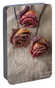 Dead Roses Portable Battery Charger