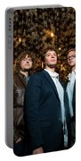 Deer Tick Portrait By Anna Webber Portable Battery Charger