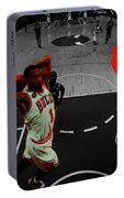 Derrick Rose Taking Flight Portable Battery Charger