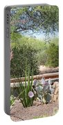 Desert Garden Portable Battery Charger
