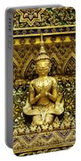 Detail From A Buddhist Temple In Bangkok Thailand Portable Battery Charger
