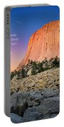 Devils Tower Portable Battery Charger