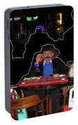 Doc Holliday Of Today Faro Crystal Palace Saloon Tombstone Arizona 2004-2009 Portable Battery Charger