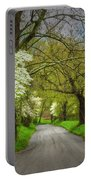 Dogwood Trail, Smoky Mountain, Tennessee Portable Battery Charger