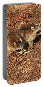 Green Heron Babies Portable Battery Charger