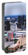 Downtown Charlotte Portable Battery Charger