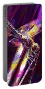 Dragonfly Insect Close  Portable Battery Charger