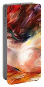 Dreams - Palette Knife Oil Painting On Canvas By Leonid Afremov Portable Battery Charger