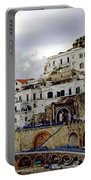 Driving The Amalfi Coast In Italy Portable Battery Charger