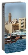 Dubai Creek And Abra Boats Portable Battery Charger
