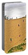 Dune Climb In Sleeping Bear Dunes National Lakeshore-michigan Portable Battery Charger