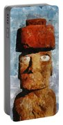 Easter Island Portable Battery Charger