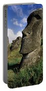 Easter Island Moai Portable Battery Charger