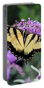 Eastern Tiger Swallowtail Butterfly 2015 Portable Battery Charger