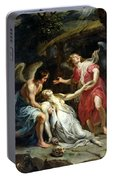 Ecstasy Of Mary Magdalene Portable Battery Charger