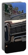 Edsel On Route 66 Portable Battery Charger