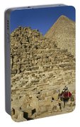 Egypt's Pyramids Of Giza Portable Battery Charger