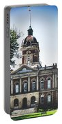 Elkhart County Courthouse - Goshen, Indiana Portable Battery Charger