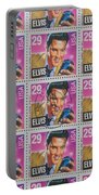 Elvis Commemorative Stamp January 8th 1993 Painted Portable Battery Charger