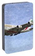 Emirates A380 Airbus Oil Portable Battery Charger
