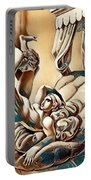 Erotic Abstract Three Portable Battery Charger