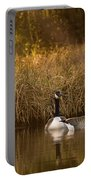 Evening By The Pond Portable Battery Charger
