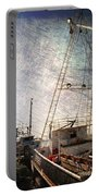 Evening In The Harbor Portable Battery Charger