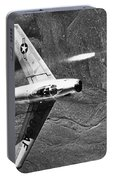 F-86 Jet Fighter Plane Portable Battery Charger