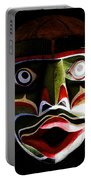 Face Of Totem Portable Battery Charger