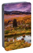 Fall Along Kebler Portable Battery Charger