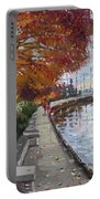 Fall In Port Credit On Portable Battery Charger