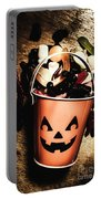 Fall Of Halloween Portable Battery Charger