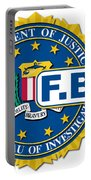 Fbi Seal Mockup Portable Battery Charger