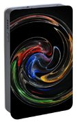 Feel Happy-colorful Digital Art That Can Enhance Your Mood Portable Battery Charger