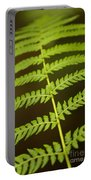 Fern Pattern Portable Battery Charger