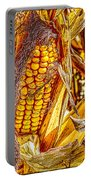Field Corn Ready For Harvest Portable Battery Charger