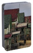 Film Homage Mae Marsh Miner's Coal Company Homes Ghost Town Madrid New Mexico Color 1968-2008 Portable Battery Charger
