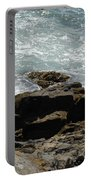 Fine Art Water And Rocks Portable Battery Charger