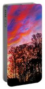Fire In The Sky Portable Battery Charger