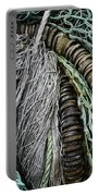Fish Netting Husavik Iceland 3755 Portable Battery Charger