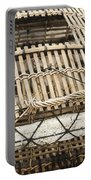 Fishermen Bamboo Crab Cages At Kep Market Cambodia Portable Battery Charger