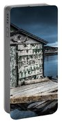 Fishing Shack And Wharf In Norris Point, Newfoundland Portable Battery Charger